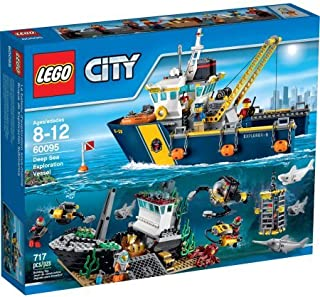 LEGO City Deep Sea Explorers Deep Sea Exploration Vessel, 60095/ Age Range: 8 to 12 Years