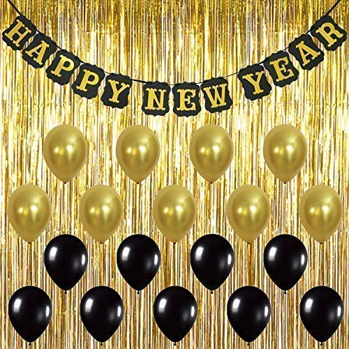 KatchOn Happy New Year Banner Decorations