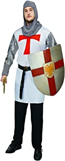 Adult Men's Crusader Costumes One Size (White)