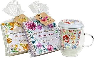 きごころ 和紅茶 有田焼 マグカップ (トロピカル)& 和紅茶ギフト