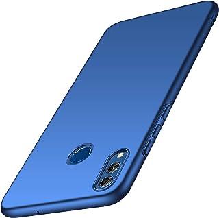 anccer Funda Huawei Honor 8X, Ultra Slim Anti-Rasguño y Resistente Huellas Dactilares Totalmente Protectora Caso de Duro Cover Case para Huawei Honor 8X (Azul Liso)