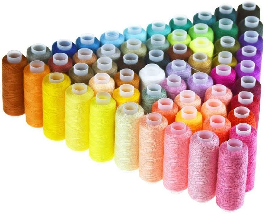 Candora Sewing Thread Coil 60 Color 1 year warranty Max 43% OFF Each 250 All Polyester Yards