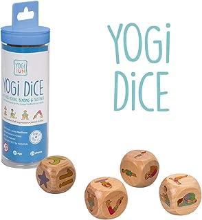 Lúdilo- Yogi Dice ninos Cartas, Familia, Juego Yoga para ...