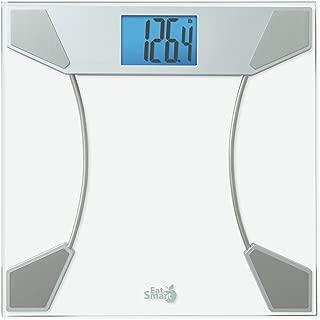 Eat Smart Precision Tracker Digital Bathroom Scale