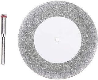 Stark 60mm Diamant Cutting Disc Dandrel Tillbehör Cirkelsåg Blade Elektrisk såg Fit för borrstål Roterande skärverktyg Kra...
