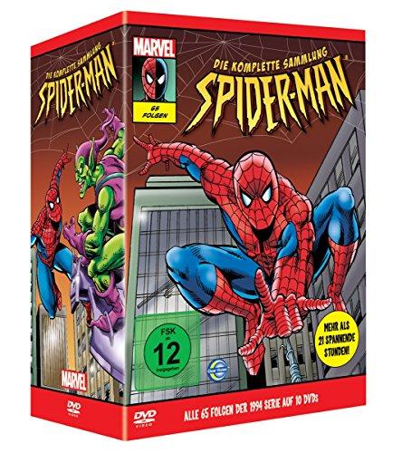 New Spider-Man - Die komplette Serie [10 DVDs]