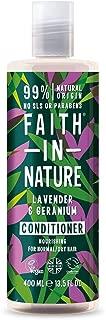 FAITH IN NATURE Cond Lavender & Geranium, 0.4 Pounds
