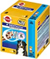 Pedigree Dentastix Dental Dog Chews - Pack of 10 (Total 10 x 7 Sticks)