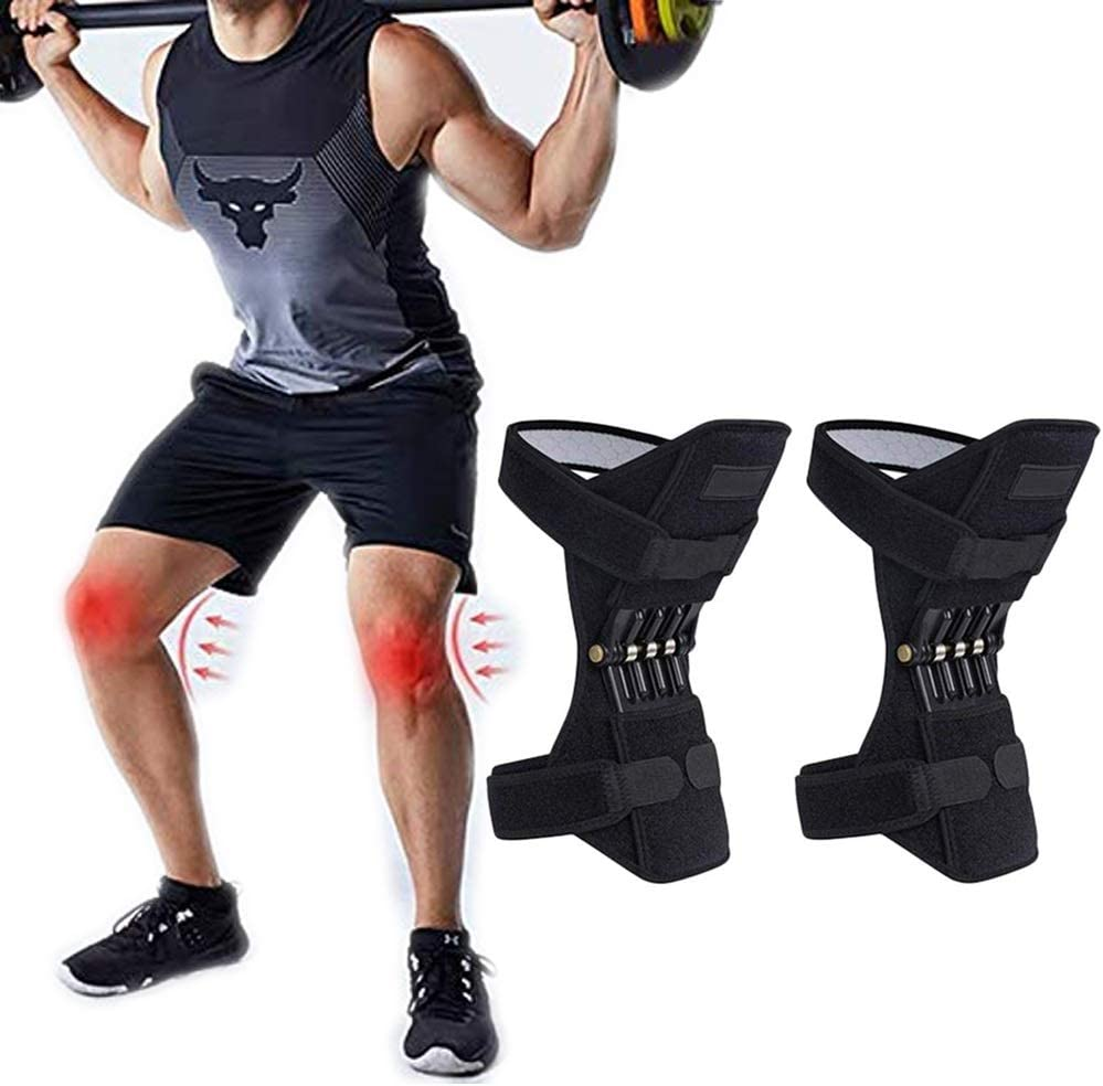 Knee Brace Joint Support Max 83% OFF Power Braces Lift Inventory cleanup selling sale Pad