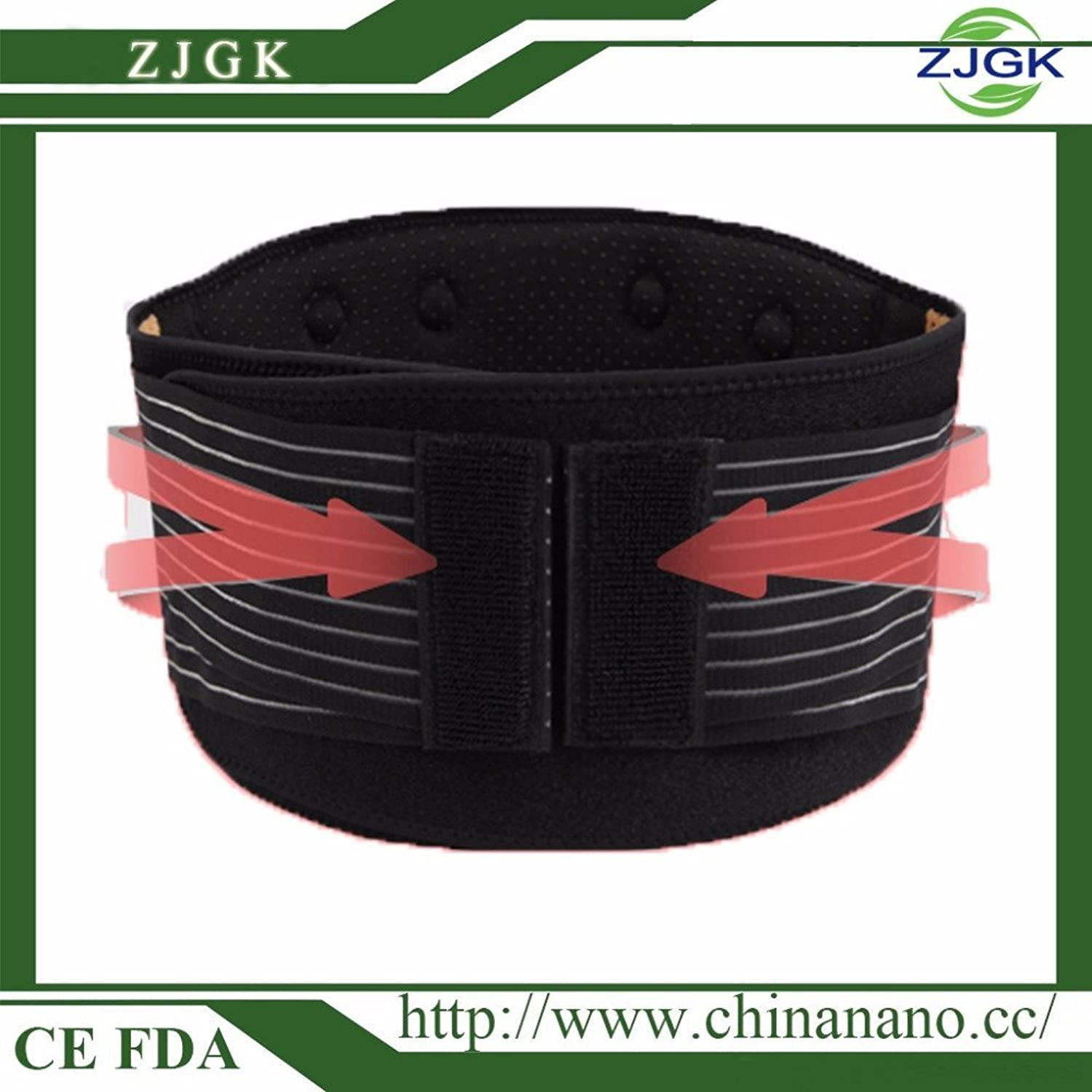 A Gift Lumbar Support Brace Hot Sale Fashion Breathable Mesh Four Steels Plate Predection Back Waist Support Belt