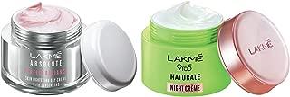 Lakmé Perfect Radiance Fairness Day Creme 50 g & Lakmé 9 to 5 Naturale Night Creme, 50 g
