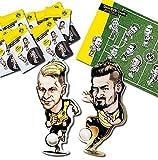 Borussia Dortmund BVB-HAFTSTICKER-Set (5 HAFTSTICKER+ SAMMELFELD)