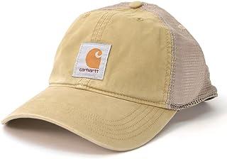 (カーハート) carhartt 100286 Baffalo Mesh Cap メッシュ スナップバックキャップ カジュアル メンズ レディース ブラック グレー カーキ 帽子 [並行輸入品] (253(DARK KHAKI))