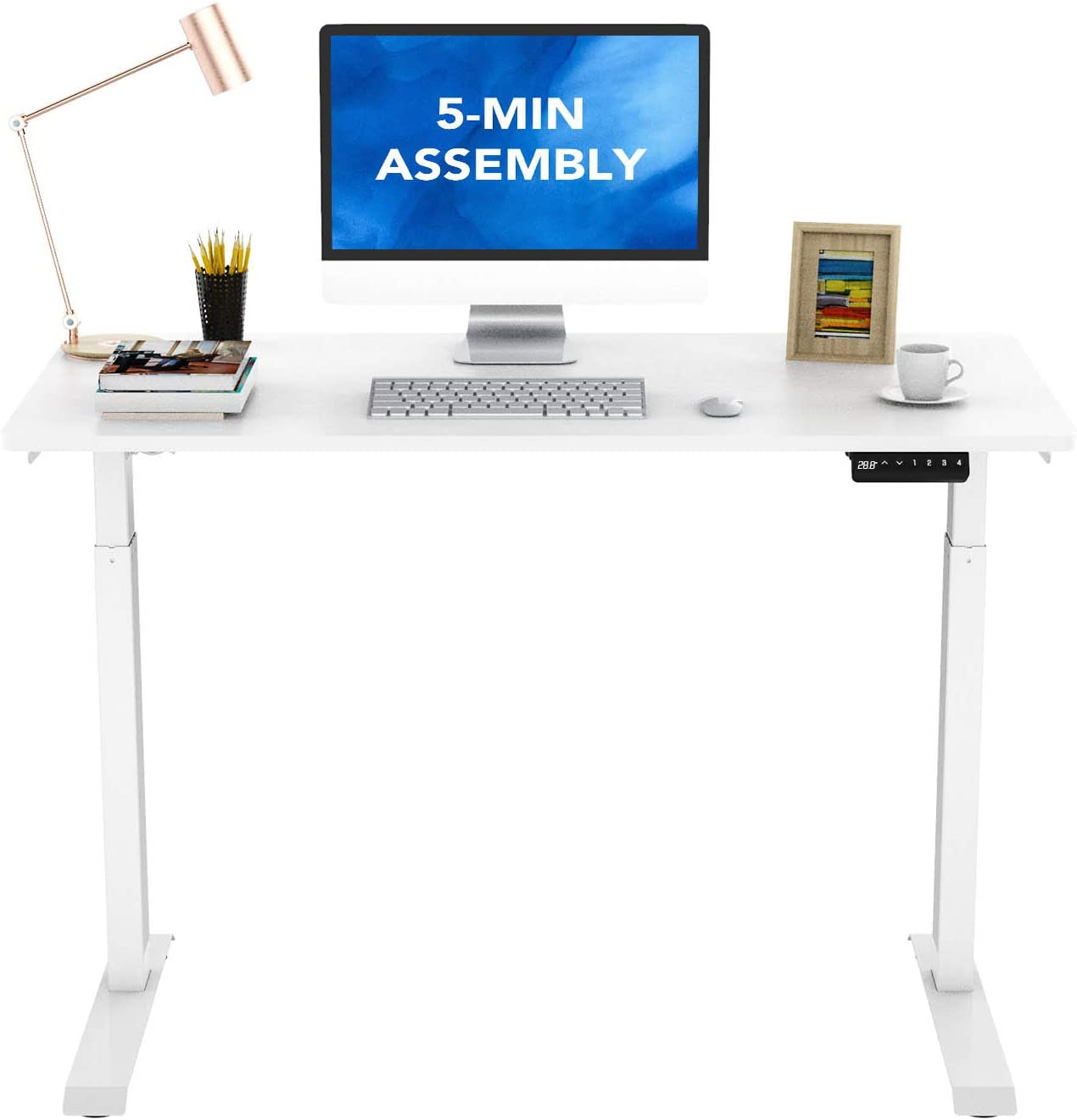 FlexiSpot E9 Max 83% OFF Standing Outlet ☆ Free Shipping Desk Quick Height Adjustable Installation