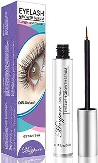 Eyelash Growth Serum, FDA-Approved Eyelash Enhancer Lash Booster Eyebrow Growth Serum for Long, Luscious Lashes and Eyebrows-Irritation Free Formula(5ml)