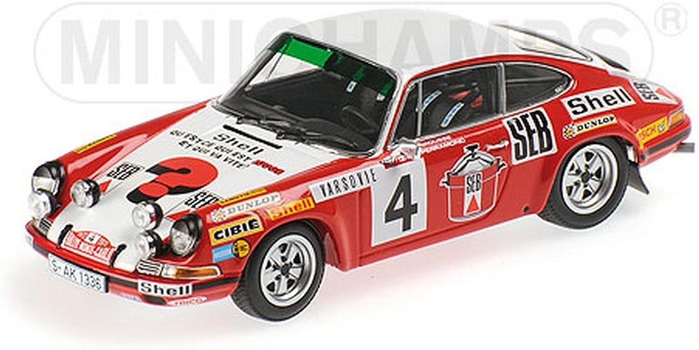 MINICHAMPS PM400726804 PORSCHE 911 S N4 MONTEautoLO 1972 LARROUSSE-PERRAMOND 1 43