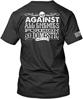RE Factor Tactical Against All Enemies Printed T-Shirt