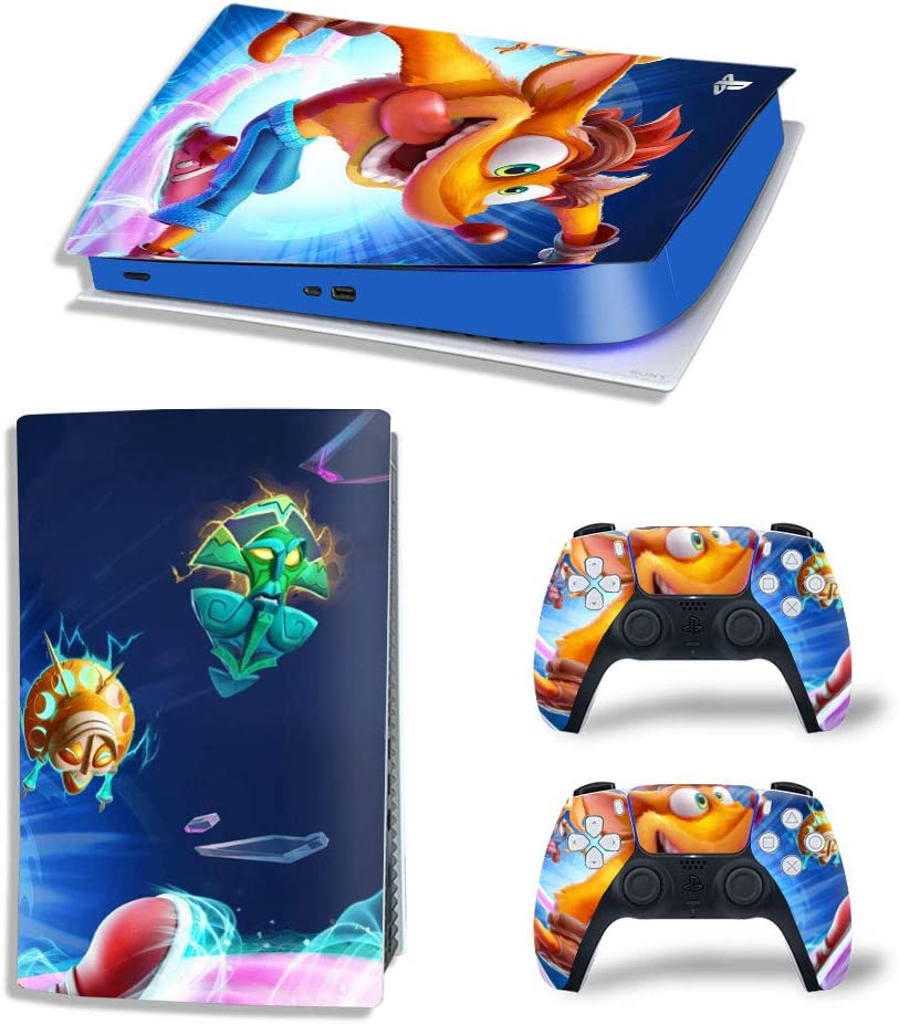 Crash Bandicoot Ps5 Skin Decal Cover 2 Con and Playstation Max 44% OFF for 5 Rapid rise