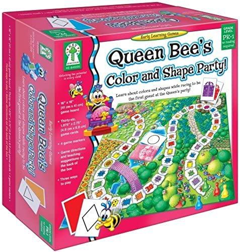 Key Education Publishing Queen Bee's Farbe and Shape Party by UNKNO