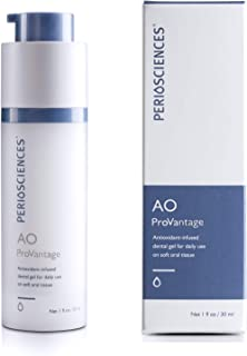 PerioSciences AO ProVantage Dental Gel - 30ml Natural Cool Mint Flavor for Healthy Oral Care, Freshens Breath While Soothi...