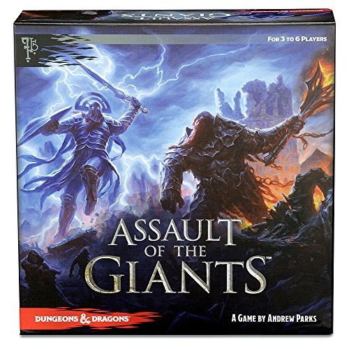 Assault of the Giants (Std Edition): Dungeons and Dragons Boardgame - English