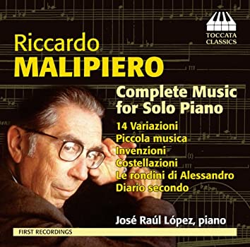 Malipiero: Complete Music for Solo Piano