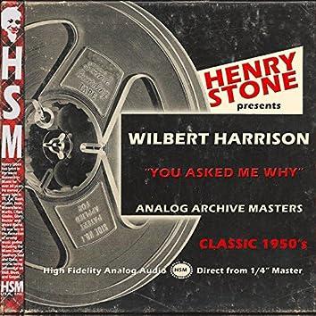 Henry Stone Presents Analog Archive Wilbert Harrison 1950's