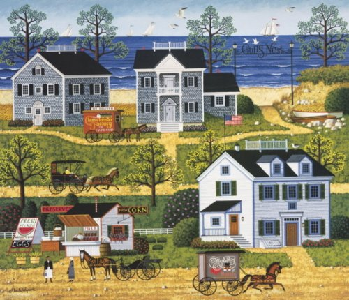 Charles Wysocki - Gulls Nest Print - Signed and Numbered with Certificate Limited Edition