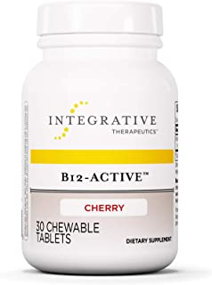 Sponsored Ad - Integrative Therapeutics - B12-Active - Fast-Absorbing Methylcobalamin - Cherry Flavor - 30 Chewable Tablets