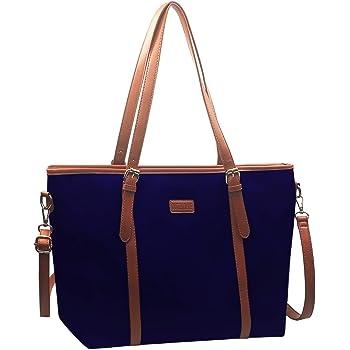 TEAMWIN Dame Handtasche Tragetasche f/ür Damen Tasche Gro/ß Shopper Wasserdichtes umh/ängetasche Handtaschen Taschen Schultasche DamentascheSchulter Navy