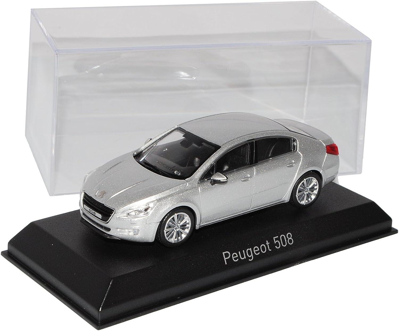 Norev Peugeot 508 Limousine Silber Ab 2010 vor Facelift 2014 1 43 Modell Auto mit individiuellem Wunschkennzeichen B01CPIVQBQ Ausgezeichnete Leistung  | Stabile Qualität