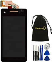 Mencia Black LCD Display Touch Digitizer Screen Assembly Replacement for Sony Xperia V Lt25i 4.3 inch with Tool