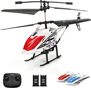 DEERC DE51 Remote Control Helicopter Altitude Hold RC Helicopters with Gyro for Adult Kid Beginner,2.4GHz Aircraft Indoor ...