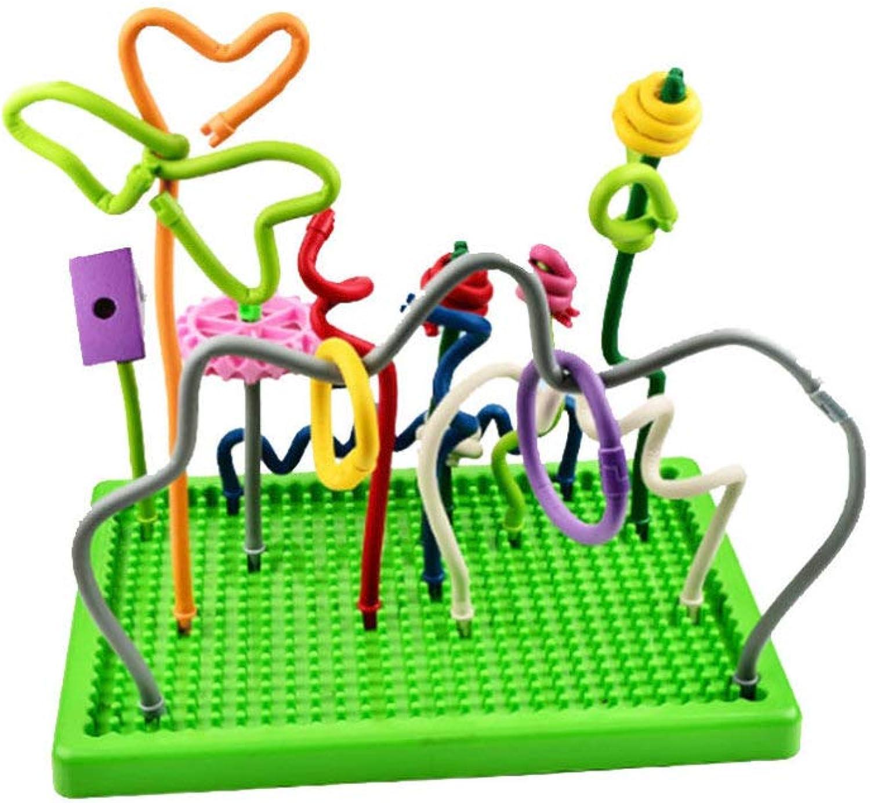 DYMAS Intellektuelles Spielzeug Bildungs-frühe Kindheit der Kinder, die Zauberstab-Spielzeug lernt