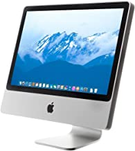 Renewed Renewed Apple MB323LL//A Intel Core 2 Duo E8135 X2 2.4GHz 1GB 250GB 20in,Silver