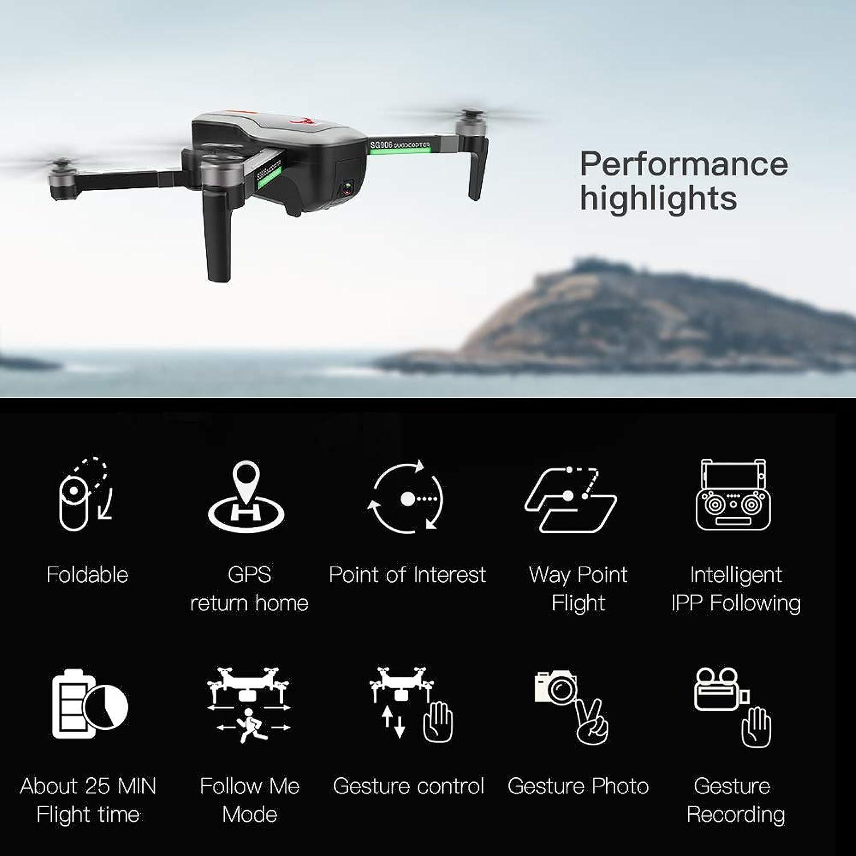 Precio por piso Leslaur SG906 GPS Brushless 4K Drone con con con cámara 5G WiFi FPV Pliegue óptico Posicionamiento de Flujo Altitud Mantener RC Quadcopter  seguro de calidad