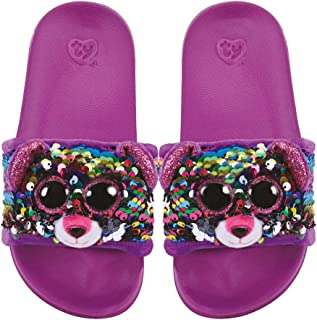 Ty Flippable Fashion Slides - Dotty - Size Small (11-13)