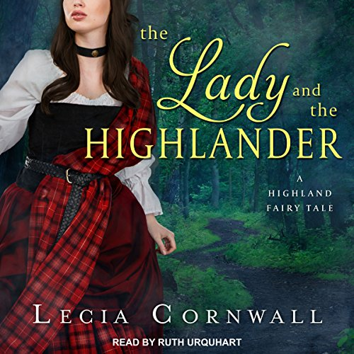 The Lady and the Highlander audiobook cover art