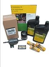 John Deere Maintenance Kit for XUV 825i Gator Utility Vehicle, Oil, Filters, Fuel Filter, Spark Plugs LG270