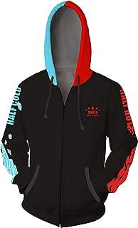 Adult Unisex Todoroki Shoto Hoodies Sweatshirt Cosplay Costume Zip-up Jacket