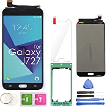 """Best Samsung Galaxy J727 LCD Display Screen Replacement Touch Digitizer Assembly 5.5"""" for J7 Prime 2017 J727U SM-J727T SM-J727T1 J727R4 J727V J727P Sky Pro SM-J727A SM-J727VL J7 2017 Perx J727PZKASP(Black) Review"""