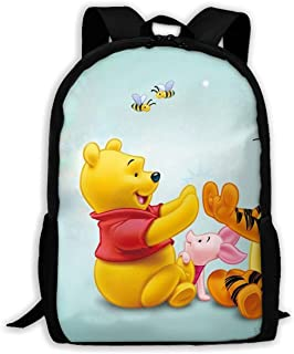 Custom Tigger Piglet and Winnie The Pooh Casual Backpack School Bag Travel Daypack Gift