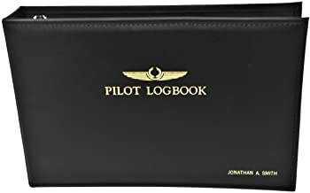 ProSoft Professional Pilot Logbook Binder Personalized Name on Cover