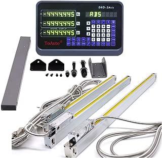 16'' 28'' 24'' 3 Axis Digital Readout Dro Display Meter for Bridgeport Milling Lathe Machine, (400mm+700mm+600mm), US Stock