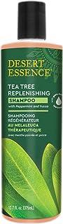 Desert Essence - Tea Tree Replenishing Shampoo - 12.9 oz.