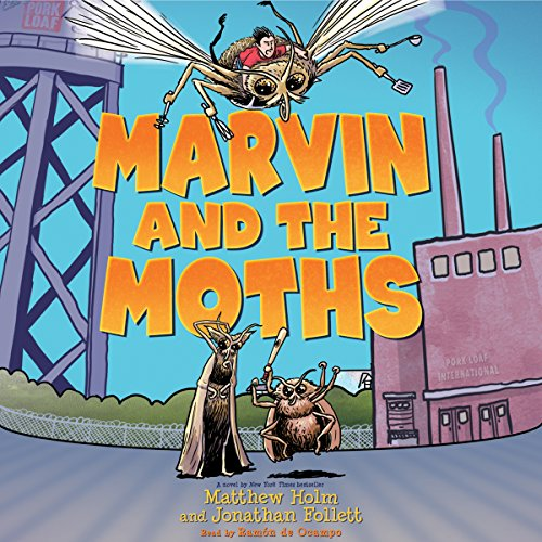 Marvin and the Moths audiobook cover art