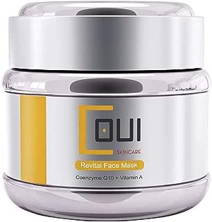 REVITAL FACE MASK Vegan Facial Cream Collagen Masks - Anti Aging, Retinol, Coenzyme Q10, Vitamin A For Dry Skin