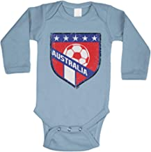 Tcombo Australia Soccer - Distressed Badge Bodysuit