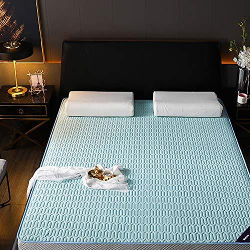 jejfdie Tatami Padded Latex Mattress,Not-slip Comfort Mattress,Student Dormitory Mattress A 150x200cm(59x79inch)