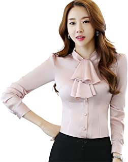 Best silk bow blouse Reviews